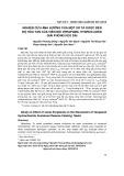 Nghiên cứu ảnh hưởng của một số tá dược đến độ hòa tan của viên nổi verapamil hydroclorid giải phóng kéo dài