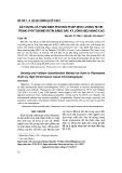 Xây dựng và thẩm định phương pháp định lượng rutin trong phytosome rutin bằng sắc ký lỏng hiệu năng cao