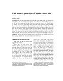 Khái niệm và quan niệm về nghiên cứu cơ bản