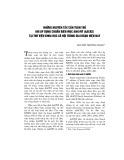 Những nguyên tắc cần tuân thủ khi áp dụng chuẩn biên mục Anh Mỹ (AACR2) tại Thư viện Khoa học xã hội trong giai đoạn hiện nay