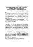Xây dựng phương pháp định lượng polyphenol toàn phần trong đài Bụp giấm (Hibiscus sabdariffa L.) bằng quang phổ UV-Vis
