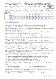 Đề kiểm tra 45 phút chương 1 Hình học lớp 11 - THPT Ngô Gia Tự - Mã đề 485