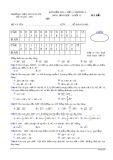Đề kiểm tra 1 tiết chương 1 Hình học lớp 10 - THPT Ngô Gia Tự - Mã đề 135