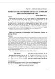 Nghiên cứu bào chế hệ phân tán rắn của altretamin bằng phương pháp đun chảy