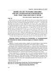 Nghiên cứu gây tê khoang cùng bằng hỗn hợp levobupivacain và morphin cho phẫu thuật vùng dưới rốn ở trẻ em