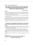 Thực trạng suy sinh dưỡng thể nhẹ cân ở trẻ dưới 5 tuổi và một số yếu tố liên quan về thực hành nuôi dưỡng trẻ tại tỉnh Hòa Bình (2013)