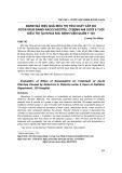 Đánh giá hiệu quả điều trị tiêu chảy cấp do Rotavirus bằng racecadotril ở bệnh nhi dưới 6 tuổi điều trị tại Khoa Nhi, Bệnh viện Quân y 103
