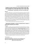 Nghiên cứu độc tính cấp và bán trường diễn trên thực nghiệm của altretamin tổng hợp tại Việt Nam