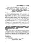 Nghiên cứu trình tự một số gen độc lực của yersinia pestis và phát triển kỹ thuật multiplex PCR xác định Yersinia pestis gây bệnh ở Việt Nam