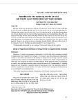 Nghiên cứu tác dụng hạ huyết áp của bài thuốc HA-02 trên động vật thực nghiệm