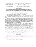 Quyết định/Số: 532/QĐ-UBND - Huyện Bắc Trà My