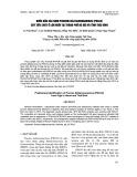 Bước đầu xác định porcine deltacoronavirus (PDCoV) gây tiêu chảy ở lợn nuôi tại thành phố Hà Nội và tỉnh Thái Bình