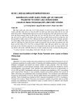Bước đầu chiết xuất, phân lập và tinh chế palmatin từ dược liệu Hoàng đằng (Caulis et Radix Fibraureae) để làm chất chuẩn
