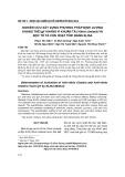 Nghiên cứu xây dựng phương pháp định lượng kháng thể IgY kháng vi khuẩn tả (Vibrio cholera) và độc tố tả còn hoạt tính bằng ELISA