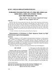 Thẩm định phương pháp sắc ký lỏng hiệu năng cao bằng định lượng diclofenac trong dịch tiền phòng mắt thỏ