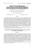 Quang hợp và tốc độ tăng trưởng của khoai sọ (colocasia ecsculenta var. esculenta) ở thời kỳ bắt đầu phân hóa củ và thời kỳ tăng nhanh tích lũy vào củ ngừng sinh trưởng thân lá