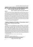Nghiên cứu ảnh hưởng của tá dược đến chất lượng bột cao khô Cúc hoa vàng (Chrysathemum indicum L) bào chế bằng phương pháp phun sấy