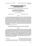 Mối tương quan giữa mật độ vi khuẩn Vibrio spp. và độ mặn trong ao nuôi tôm