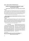 Nghiên cứu xây dựng tiêu chuẩn chất lượng bột cao khô táo mèo