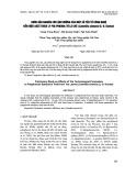 Bước đầu nghiên cứu ảnh hưởng của một số yếu tố công nghệ đến hiệu suất trích ly polyphenol từ lá chè (camellia sinensis (l) o. kuntze)