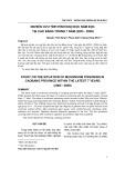 Nghiên cứu tình hình ngộ độc nấm độc tại Cao Bằng trong 7 năm (2003 - 2009)