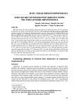 Khảo sát một số phương pháp giảm kích thước tiểu phân liposome amphotericin B