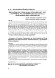 Ảnh hưởng của thông số quy trình đến chiết xuất polyphenol từ lá chè xanh (Camellia sinensis L.) bằng phương pháp chiết siêu âm