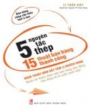 5 nguyên tắc thép, 15 thuật bán hàng thành công: phần 1 - lí tuấn kiết
