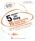 5 nguyên tắc thép, 15 thuật bán hàng thành công phần 2 - lí tuấn kiết