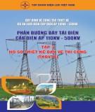 phần trạm biến áp cấp điện áp từ 220kv đến 500kv (tập 3): phần 1 - tập đoàn điện lực việt nam