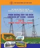 phần đường dây tải điện cấp điện áp từ 110kv đến 500kv (tập 2): phần 2 - tập đoàn điện lực việt nam