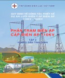 phần trạm biến áp cấp điện áp 110kv (tập 2): phần 2 - tập đoàn điện lực việt nam
