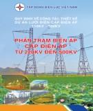 phần trạm biến áp cấp điện áp từ 220kv đến 500kv: phần 1 - tập đoàn điện lực việt nam