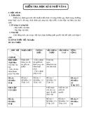 Đề kiểm tra học kì II môn Ngữ Văn 6