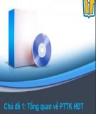 Bài giảng Phân tích thiết kế hệ điều hành: Chủ đề 1 - ThS. Lương Trần Hy Hiến