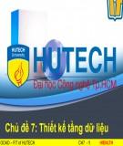 Bài giảng Phân tích thiết kế hệ điều hành: Chủ đề 7 - ThS. Lương Trần Hy Hiến