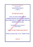 Luận văn Thạc sĩ Khoa học Kinh tế: Nâng cao chất lượng dịch vụ internet banking tại Ngân hàng TMCP Đầu tư và Phát triển Việt Nam - Chi nhánh Quảng Trị