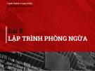 Bài giảng Kỹ thuật lập trình: Bài 8 - ThS. Nguyễn Thành Trung
