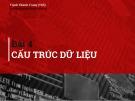 Bài giảng Kỹ thuật lập trình: Bài 4 - ThS. Nguyễn Thành Trung