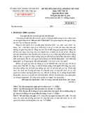 Đề kiểm tra giữa HK 2 môn Ngữ Văn 10 năm 2017-2018 có đáp án - Trường THPT Chu Văn An