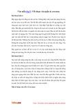 Văn mẫu lớp 5: Viết đoạn văn ngắn tả cơn mưa