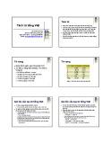 Bài giảng Xử lý ngôn ngữ tự nhiên (Natural Language Processing): Bài 2 - Lê Thanh Hương