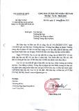 Quyết định số 461/CSVC