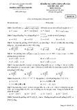 Đề kiểm tra chất lượng đầu năm môn Toán lớp 12 năm 2018-2019 - THPT Hàn Thuyên - Mã đề 132