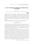 A fuzzy probabilistic relational database model and algebra