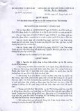 Quyết định số 4224/QĐ-BGDĐT
