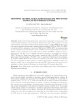 Designing optimal fuzzy controller for MRD based train-car suspension systems