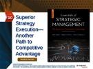 Lecture Essentials of strategic management: The quest for competitive advantage (4e) - Chapter 10