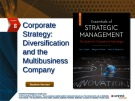 Lecture Essentials of strategic management: The quest for competitive advantage (4e) - Chapter 8
