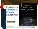 Lecture Essentials of strategic management: The quest for competitive advantage (4e) - Chapter 3